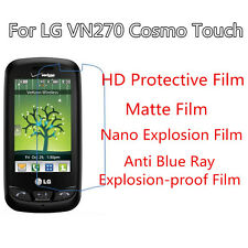 3pcs For LG VN270 Cosmo Touch Ultrathin High Clear,Good Touch Matte Screen Film