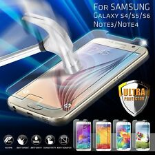 Premium Real Tempered Glass Film Screen Protector for Samsung Galaxy Model