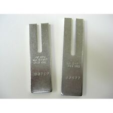 POLICE RADAR PAIR 2 TUNING FORKS MPH DECATUR STALKER AUTHORIZED SERVICE CENTER