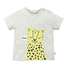 New  Baby Boys T-Shirt – meow leopard print