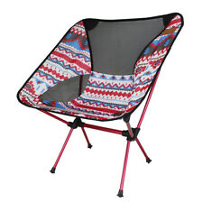 Ultralight Folding Camping Chair Portable Outdoor Fishing Moon Chair Seat Picnic