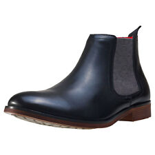 NW1 London Side Elastic Mens Chelsea Boots Black New Shoes