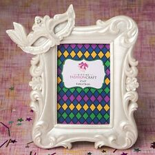 Mardi Gras Masked theme picture / placecard frame from PartyFairyBox / FC-8863