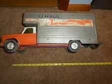 "Vintage Nylint U Haul Rental Transporter Chevy Steel Box Truck USA 19"" Long"
