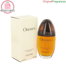 Obsession Perfume By CALVIN KLEIN FOR WOMEN 3.4 oz EDP Spray 1.7 oz 100 ML NEW