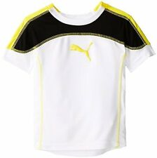 PUMA Childrens Apparel Little Boys Toddler Yoke Tee- Pick SZ/Color.