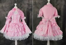 M-X S/M/L/XL/XXL pink Gothic Classic Lolita dress Cosplay costume