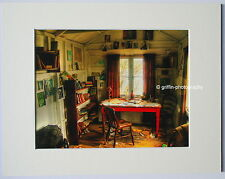 """Dylan Thomas """"The Writing Shed"""" Signed Limited Edition Mounted Print 14""""x11"""""""