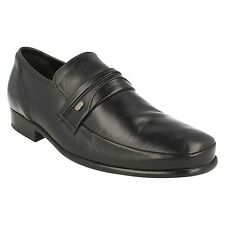 BRIMSMORE VIEW MENS CLARKS LEATHER SLIP ON MOCCASIN STYLE OFFICE WORK SHOES SIZE