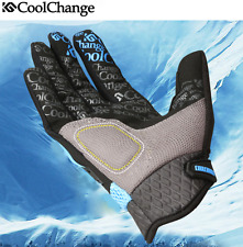 CoolChange Full Finger Cycling Gloves Gel Bike Long Texting Touchscreen Gloves