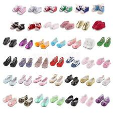 Trendy Doll Girl Flat/Casual Shoes Sneakers for 18'' American Girl Doll Clothing