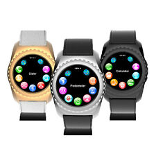 Smart Watch SIM/TF Card for IOS Android Phone with Camera Pedometer Men Women