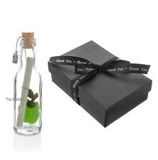 Unique Thank You Teaching Assistant Gift - Personalised Message in a Bottle