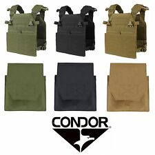 Condor Vanquish Tactical MOLLE Plate Carrier w/ Side Plate Pouch Insert