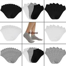 Women Cotton Breathable Low Cut Socks No Show Casual Socks Pack of 6/12 ES88