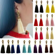 Fashion Vintage Ethnic Boho Tassel Ear Drop Dangle Earrings Women Jewelry 3.9""