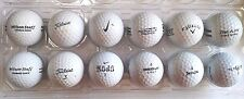 20¢ Each Reclaimed Golf Balls Bridgestone Callaway Nike Pinnacle Titleist Wilson