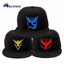 Team Valor Mystic Instinct Embroidered Baseball Cap Pokemon GO Fan Snapback Hats