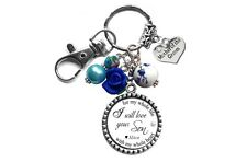 Mother of the Groom Necklace or Keychain with Quotes - Personalized Wedding Gift