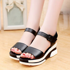 New Fashion Wedge Heels Summer High Platform Size Casual Womens Sandals Shoes