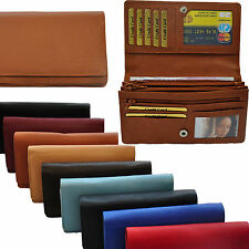 Ladies - Purse with 20 Compartments in fine Cattle leather - Wallet Purse