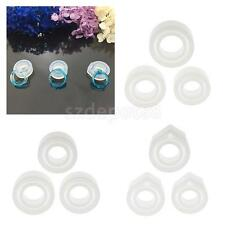 3pc Assorted Size Silicone DIY Ring Mold Making Resin Casting Jewelry Ring Mould