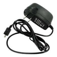 For T-MOBILE PHONES - HOME WALL TRAVEL AC ADAPTER CHARGER MICRO USB BLACK