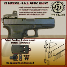 JT Defense Red Dot Optic Sight Mount for Glocks