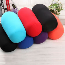 Microbead Back Cushion Roll Throw Pillow Travel House Bed Sofa Sleep Neck