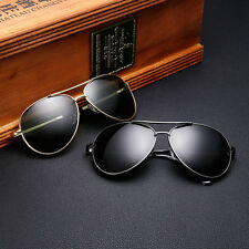 Polarized Men Aviator Driving Sunglasses Glasses Vintage Retro Fashion UV400