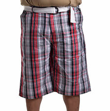 Southpole Collection Men's Big & Tall Casual Plaid Shorts Size 48