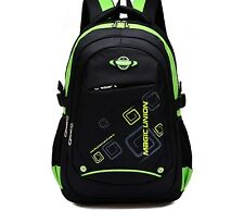 Boys School Bag Rucksack Travel Backpack Satchel Canvas Shoulder Women Girls Boy
