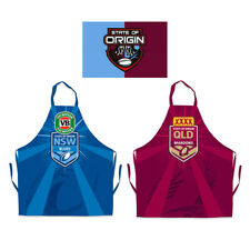 NRL State of Origin BBQ Apron - NSW Blues and QLD Queensland Maroons