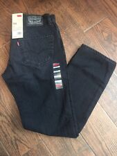 NEW 100% AUTHENTIC $78 LEVIS 511 Skinny Slim Fit Jeans BLACK SMOKE NWT LEVI'S