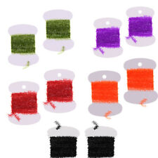 Tinsel Chenille Fly Tying Body Materials for Flies Trout Bait Lures Making