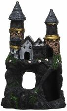 Penn Plax Fantasy Enchanted Castle Decoration Aquarium Ornament Fish Tank Tunnel