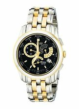Citizen Mens Eco-Drive Calibre 8700 Two-Tone Stainless Steel Watch