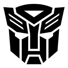 Transformers Autobot Decal Diecut Sticker Self Adhesive Vinyl Car window helmet