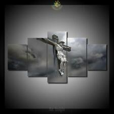 Jesus on the Cross Painting Canvas Abstract Wall Print Art Poster Home Decor