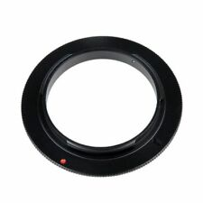 49 52 58 62 67 77mm Camera Macro Reverse Adapter Ring For Nikon AF AI Mount DSLR