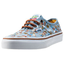 Vans Authentic Toy Story Woody Kids Trainers Blue Multicolour New Shoes