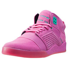 Supra Skytop Iii Miami Mens Pink Suede & Synthetic Casual Trainers Lace-up