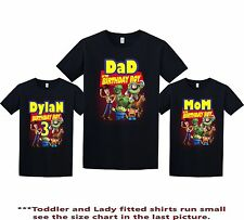 Toy Story Birthday Shirt custom personalized t-shirt add any NAME and AGE