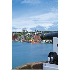 Poster Print Wall Art entitled St. John's, Newfoundland, Canada, the waterfront