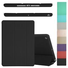 Smart Stand Cover for iPad 4 3 2 mini Pro New iPad 9.7 with Soft Back TPU Case