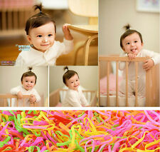 One-time Cute Rubber Hairband Hair Band Ties Ponytail Elastic Holder Braids