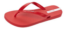 Ipanema Classic II Mens Flip Flops / Beach Sandals - Red - Worldwide Shipping