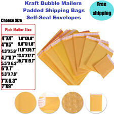 Wholesale KRAFT Poly Bubble Mailers Padded Envelopes Shipping Bags Free Shipping