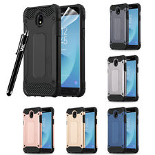 ArmorBox Dual Layer Hybrid ShockProof Rugged Case Cover For Samsung Galaxy Phone
