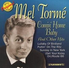 Comin' Home Baby! by Mel Torme' (CD, Jun-1997, Rhino Flashback) New